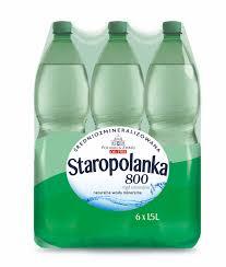 Woda Nałęczowianka 1,5L GAZ/NGAZ/LGAZ